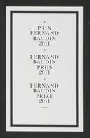 Prix Fernand Baudin: Prix Fernand Baudin 2011.