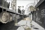 Carlos Diaz: Coney Island-Invented Landscape #30D-NY-2003