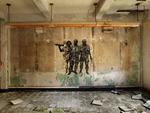 Dave Jordano: Room Detail 9, Chanute AFB, Rantoul, IL