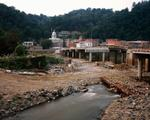 Jeff Rich: Bridge Reconstruction, The French Broad River, Marshall, North Carolina, 2006