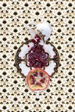 JP Terlizzi: Marchesa Baroque Night with Pomegranate, 2019