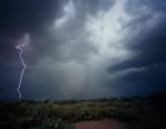 Kevin Erskine: Monsoon Storm, Marana, Arizona, 2012