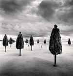 Michael Kenna: Thirteen Beach Umbrellas, Montesilvano, Abruzzo, Italy