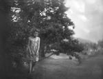 Raymond Meeks: Abby, picking cherries, 2003