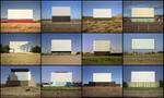 Steve Fitch: Screen towers, 1980 to 1995