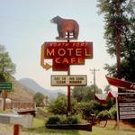 Steve Fitch: Highway 66, Chambliss, California, February, 1986