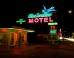 Steve Fitch: Blue Swallow Motel, Hwy. 66, Tucumcari, New Mexico; July, 1990